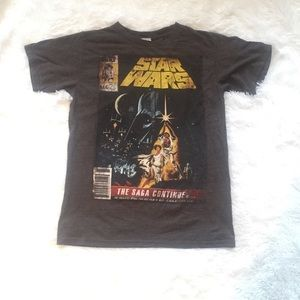 Vintage Star Wars Short Sleeve Shirt Perfect Cond